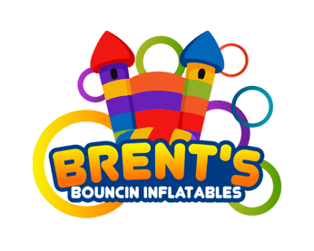 Brent's Bouncin Inflatables Logo
