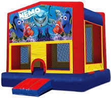 Finding Nemo Modular Bounce House