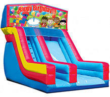Happy Birthday 18' Modular Dry Slide