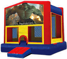 Incredible Hulk Modular Bounce House