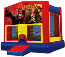 Pirates of Caribbean Modular Bounce House