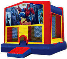 Spiderman Modular Bounce House