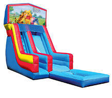 18' Winnie the Pooh Modular Water Slide with pool
