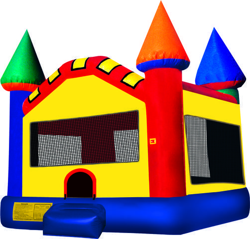 Castle Color Bounce House