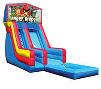 18' Angry Birds Modular Water Slide with Pool