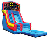 18' Batman Modular Water Slide with pool