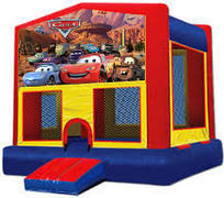 Cars Modular Bounce House