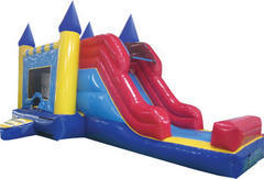 Castle Bounce and Water Slide Combo