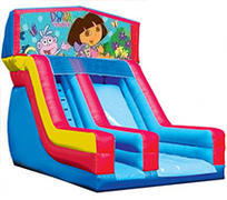Dora the Explorer 18' Modular Dry Slide