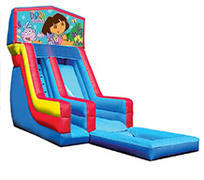 18' Dora Modular Water Slide with Pool