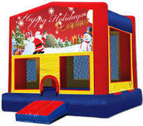Happy Holidays Modular Bounce House