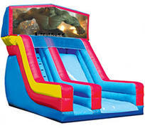 Incredible Hulk 18' Modular Dry Slide