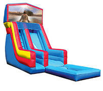 18' Jesus Modular Water Slide with pool