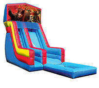 18' Pirates of Caribbean Modular Water Slide with pool
