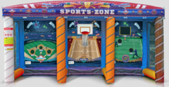 3-in-1 Sports Zone Carnival Game