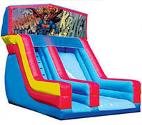 Superman 18' Modular Dry Slide