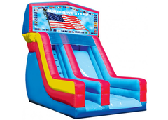 USA Flag 18' Modular Dry Slide