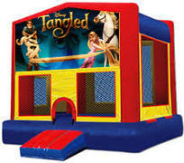 Tangled Modular Bounce House