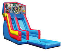 18' Toy Story 3 Modular Water Slide with pool