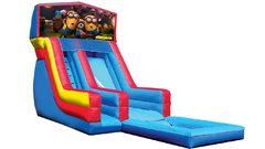 18' Minions Modular Water Slide with Pool