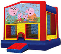 Peppa Pig Modular Bounce House