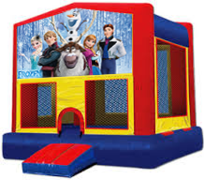 Frozen Modular Bounce House