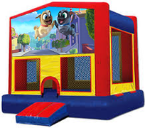 Puppy Dog Pals Modular Bounce House