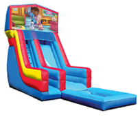 18' Doc McStuffins  Modular Water Slide with Pool
