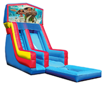 18' Moana Modular Water Slide with Pool