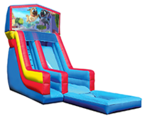 18' Puppy Dog Pals Modular Water Slide with Pool