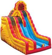 20' Fire N' Ice Dry Slide