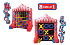 Tic-Tac-Toe & 4-Spot Combo Game