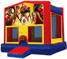 Incredibles Modular Bounce House