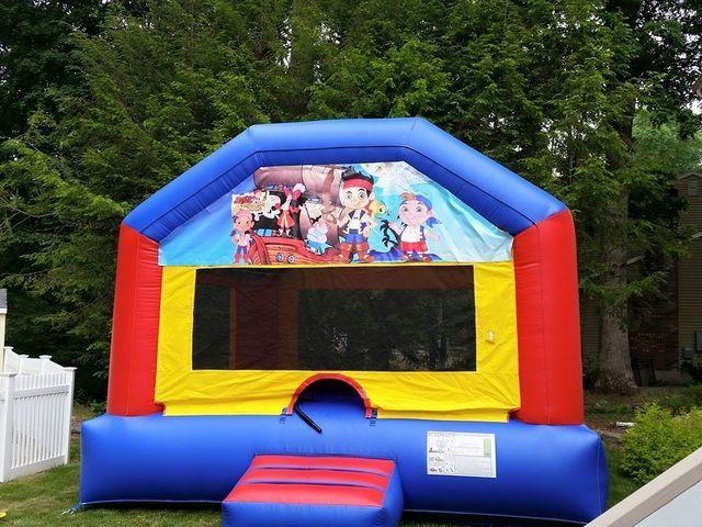 Jake and the Never Land Pirates Bounce House