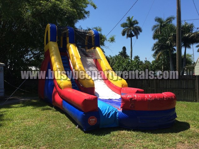 15ft Retro Waterslide