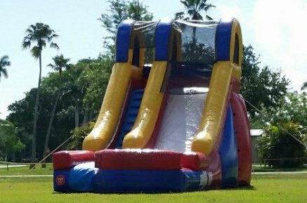 15ft Retro Dry Slide