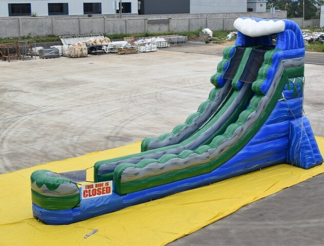 20ft Wave Water Slide