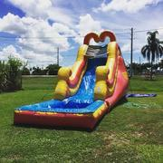 16ft Backyard Slide w/ Pool