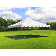 20x20 Tent with 8 Tables & 48 Chairs