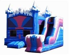 Ice Castle Bouncer