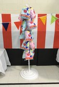 Cotton Candy Floor Display Stand