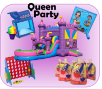 Queens Party Package