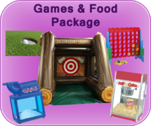 Games and Food Package