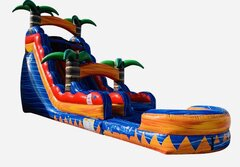 19 FT Bahama Breeze Water Slide 36 L x 19 F