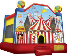 Carnival and Circus Bounce House