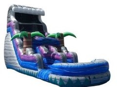 18 Ft Tsunami Crush Water Slide Wet 36x18