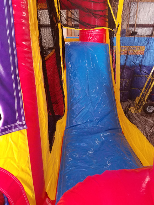 Sports 4in1 Combo Bouncer Slide