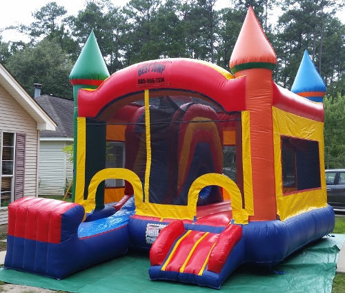 Castle Combo Bouncer 5in1 Exterior