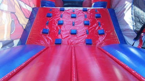 Fire Truck Inflatable Combo Bouncer Interior