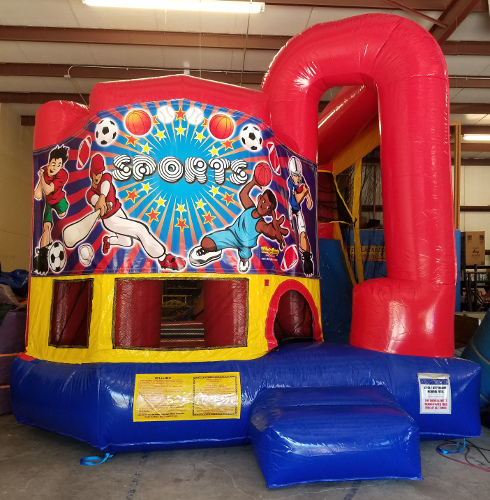 Sports 4in1 Combo Bouncer Exterior